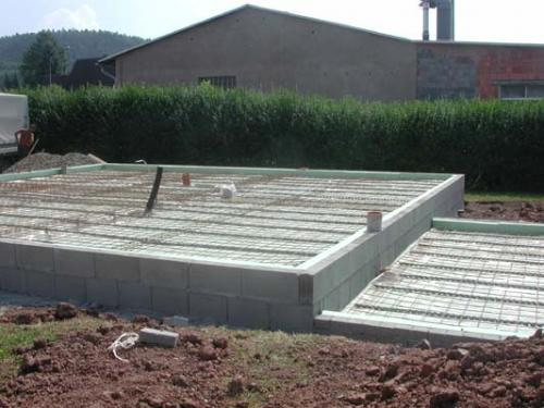 Armierung Bodenplatte